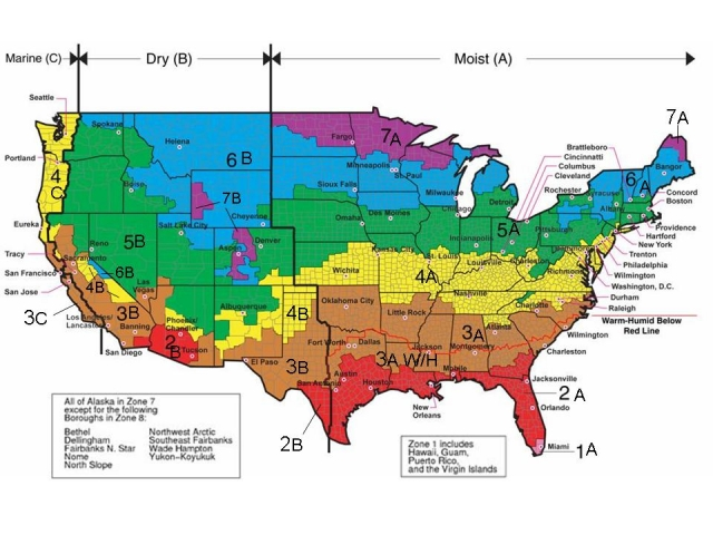 All About Climate Zones Greenbuildingadvisor - Us-temperate-climate-zone-map