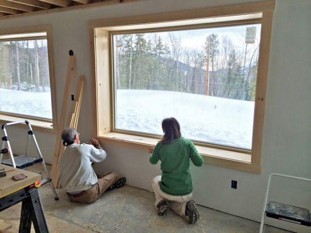 Siding And Interior Finish Work In New Hampshire