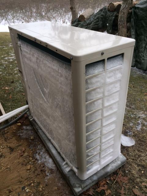 Ductless Mini Split Heat Pump With Heating Strip