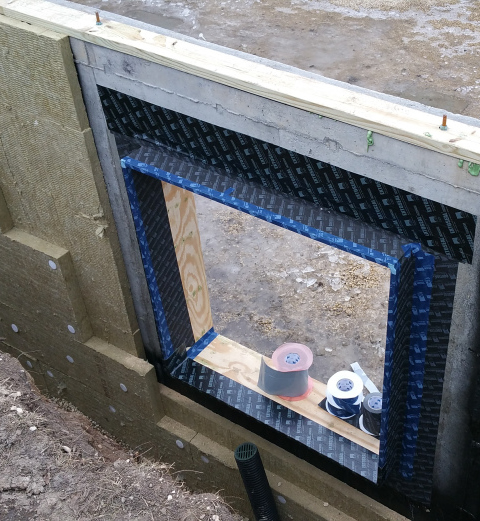 Urban Rustic: Details For An Insulated Foundation